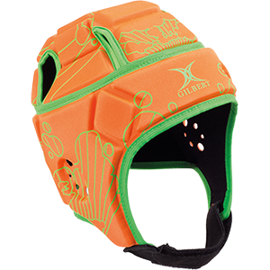 Attack Blitz Orange Green Headguard