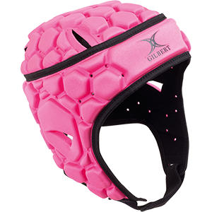 Falcon Pink White Headguard