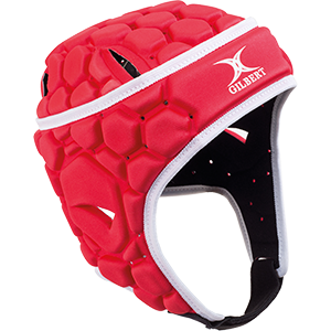 Falcon Red White Headguard