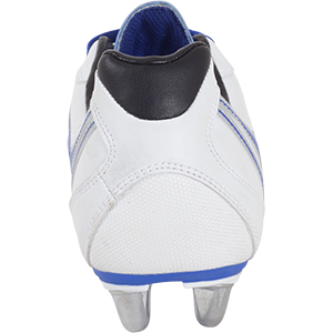 Gilbert Rugby SideStep XV LO 6S Blue White Shoe Back