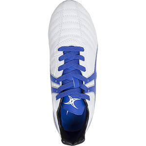 Gilbert Rugby SideStep XV LO 6S Blue White Shoe Top
