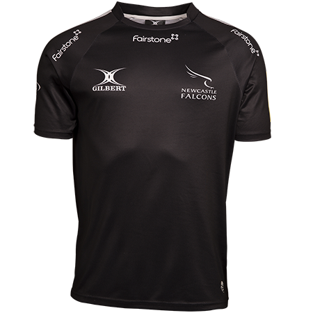 Gilbert Rugby newcastle falcons 15 home jersey front