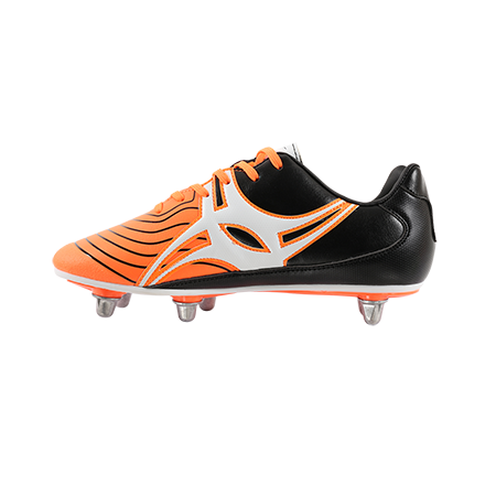 Gilbert Rugby EVO MK2 6S ORANGE INSTEP