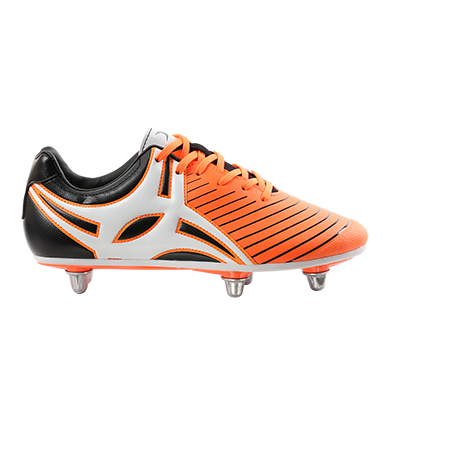 Gilbert Rugby EVO MK2 6S ORANGE OUTSTEP