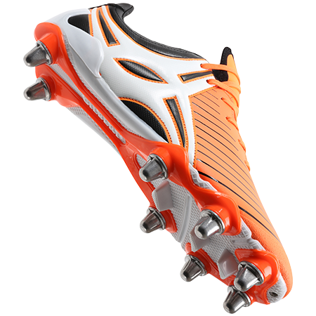 Gilbert Rugby EVO MK2 8S ORANGE MAIN VIEW