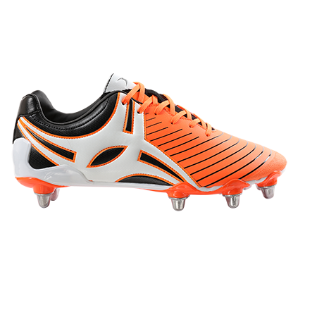 Gilbert Rugby EVO MK2 8S ORANGE OUTSTEP