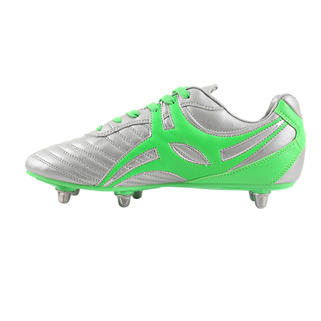 Gilbert Rugby S_STEP XV LO6S CHROME INSTEP