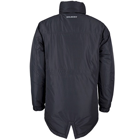 Gilbert Rugby Clothing Pro Touchline Black, Back