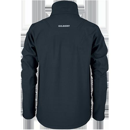 Gilbert Rugby Clothing Pro Shell Full Zip Dark Navy, Back