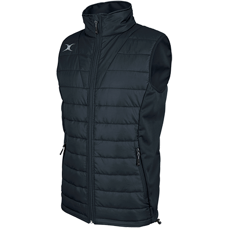 Gilbert Rugby Clothing Pro Bodywarmer Dark Navy Main