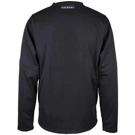 Gilbert Rugby Clothing Pro Warmup Black, Back