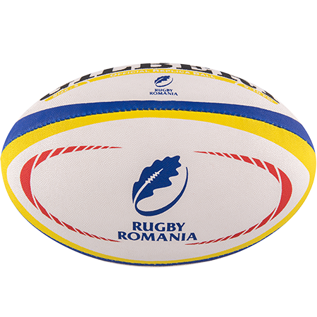 Gilbert Rugby Replica Romania Size 5 Panel 1
