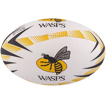 Gilbert Rugby Supporter Wasps Size 5 Panel 1