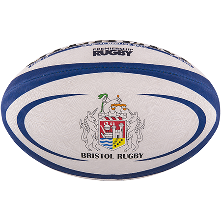 Gilbert Rugby Replica Bristol Size 5 Panel 1