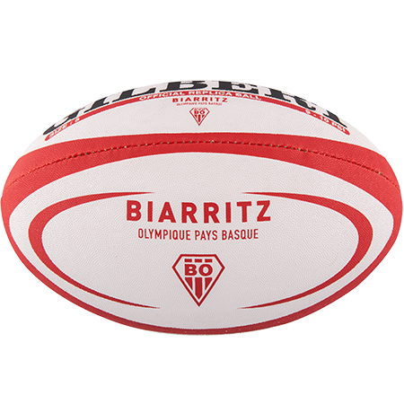 Gilbert Rugby Replica Biarritz Size 5 Panel 1