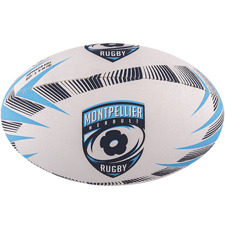 Gilbert Rugby Supporter Montpellier Size 5 Panel 1