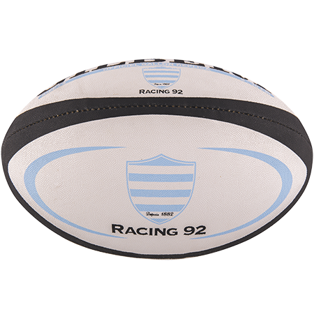 Gilbert Rugby Replica Metro Racing 92 Size 5 Panel 1