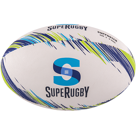 Gilbert Rugby Supporter Super Rugby Size 5 Panel 1