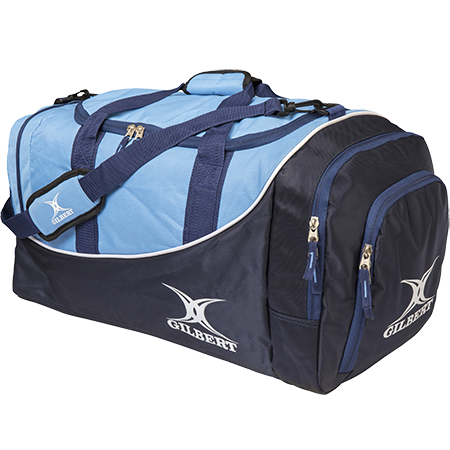 Gilbert Rugby Club Holdall Navy_sky Front