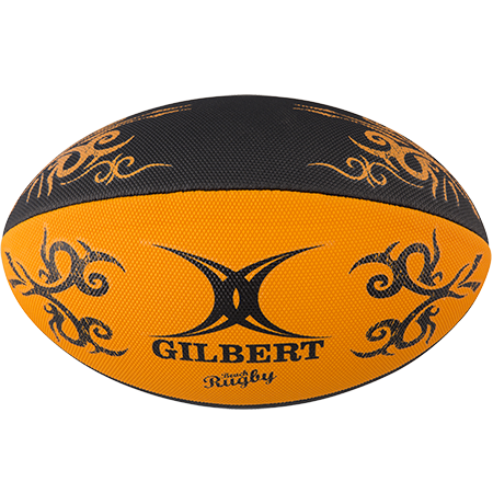 Gilbert Rugby Beach Orange