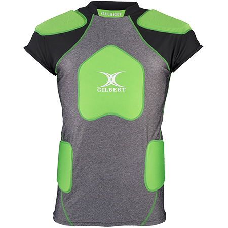 Gilbert Rugby Armour Contact Short Sleeve Trilite V2 Front