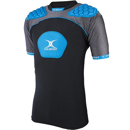 Gilbert Rugby Armour Atomic V3 Black_blue Main