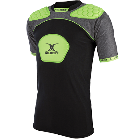 Gilbert Rugby Armour Atomic V3 Black_volt Main