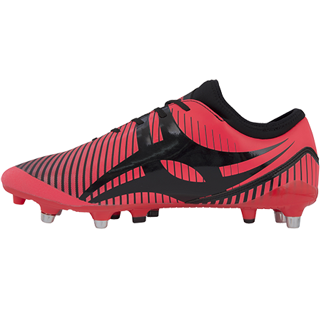 Gilbert Rugby Ignite Fly 6 Stud Hot Red Instep