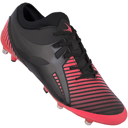 Gilbert Rugby Ignite Fly 6 Stud Hot Red Main
