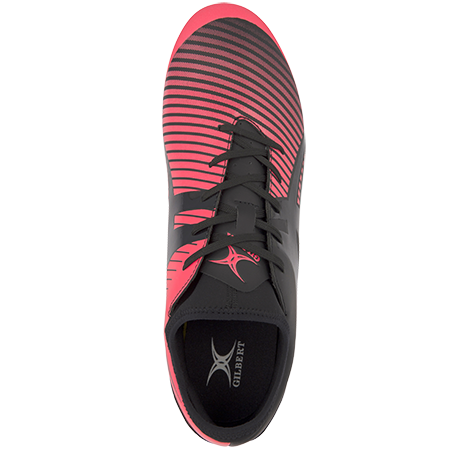 Gilbert Rugby Ignite Fly 6 Stud Hot Red Top