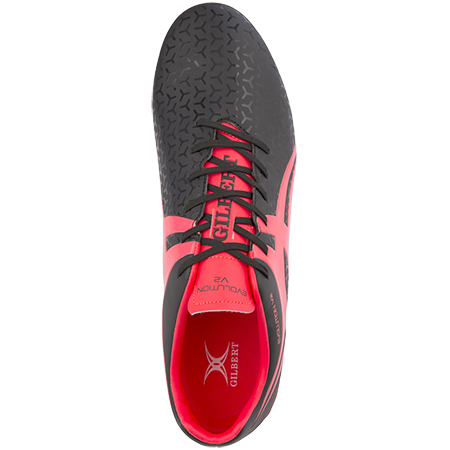 Gilbert Rugby Evolution Hot Red Top