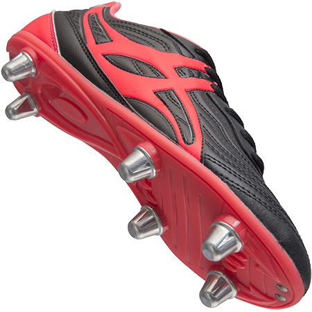 Gilbert Rugby Sidestep V1 Lo 6 Stud Hot Red Creative