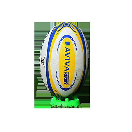 Gilbert Rugby Training Match XV Aviva Premiership Rugby Match Ball sz 5 kicker