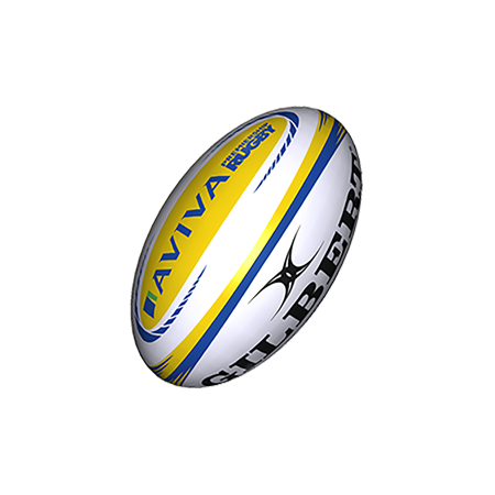Gilbert Rugby Match XV Aviva Premiership Rugby Match Ball sz 5
