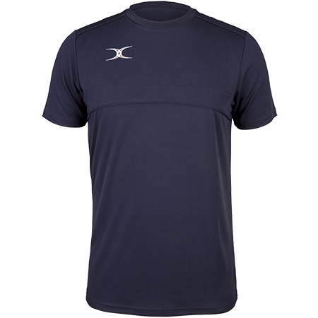 Gilbert Rugby Clothing Photon Mens Tee Dark Navy Front