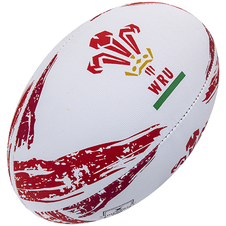 Gilbert Rugby Replica Balls Supporter Wales Sz 5 17, Creative