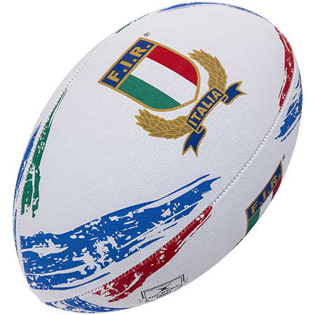Gilbert Rugby Supporter Italia Sz 5, Creative
