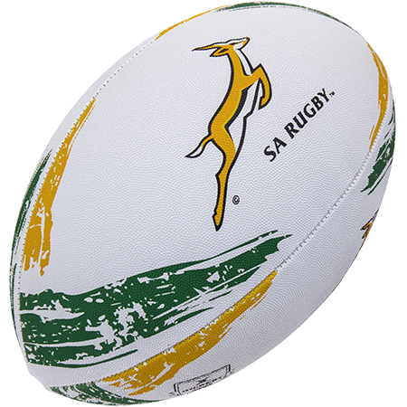 Gilbert Rugby Supporter South Africa Sz 5, Creative