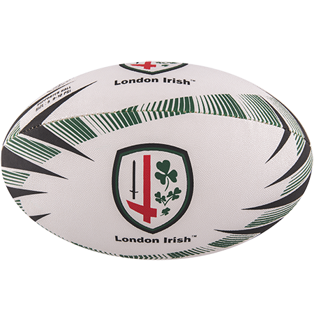 Gilbert Rugby Balls Supporter London Irish Size 5 Panel 1