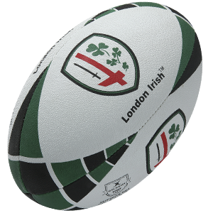 Gilbert Rugby Balls London Irish Supporter