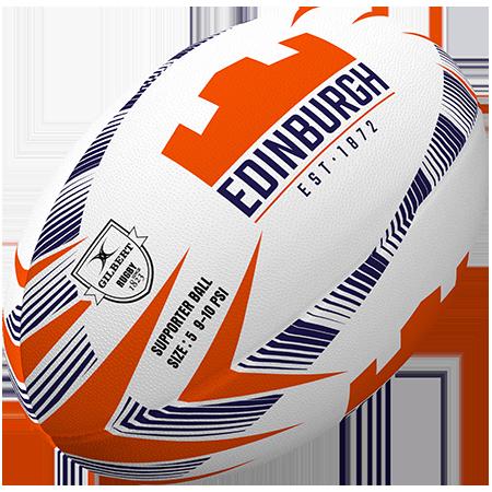 Gilbert Rugby Edinburgh Supporter Size 5