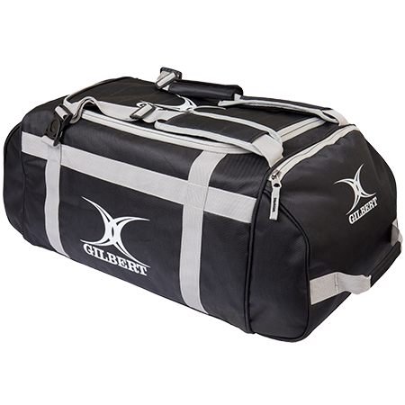 Gilbert Rugby Deluxe Holdall Black Top End