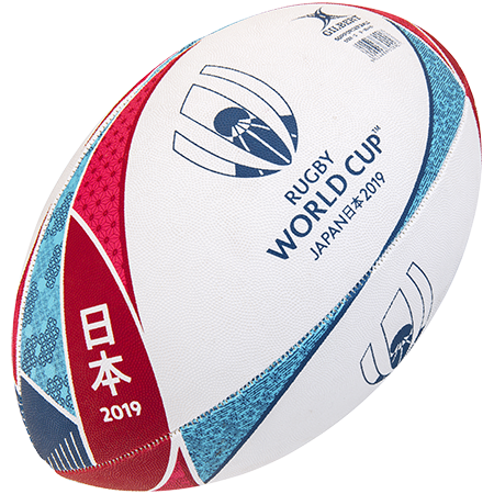 Gilbert Rugby Supporter Rwc 2019 Size 5, Creative Main