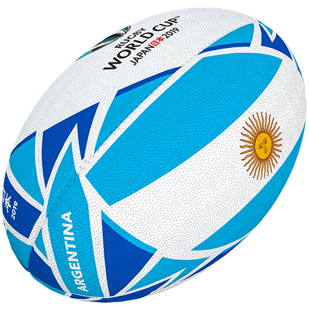 Gilbert Rugby Rwc 2019 Flag Argentina Size 5