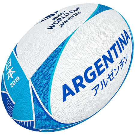 Gilbert Rugby Rwc 2019 Supporter Argentina Size 5