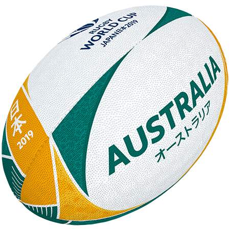 Gilbert Rugby Rwc 2019 Supporter Australia Size 5
