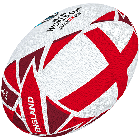 Gilbert Rugby Rwc 2019 Flag England Size 5