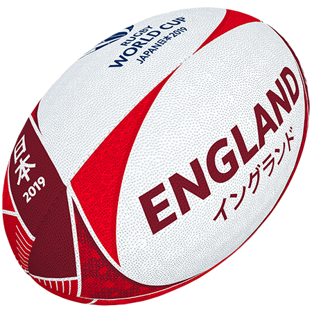 Gilbert Rugby Rwc 2019 Supporter England Size 5