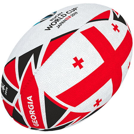 Gilbert Rugby Rwc 2019 Flag Georgia Size 5