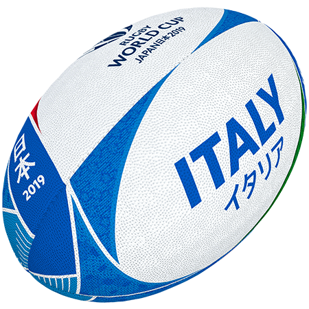 Gilbert Rugby Rwc 2019 Supporter Italy Size 5
